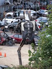 Secret metal sculpture