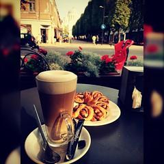 #coffee & #cake @ #laisvesaleja #kaunas