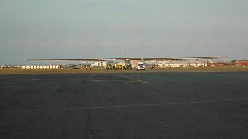 Solar Impulse in Hawaii