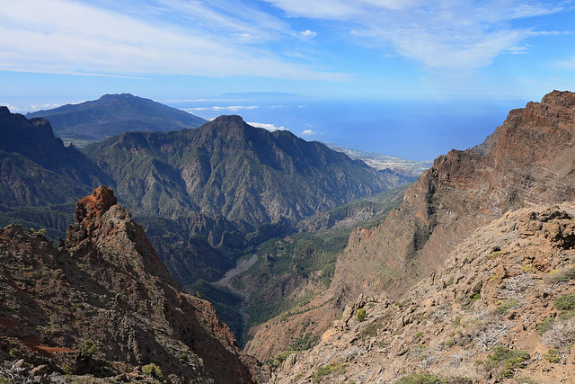 La Palma - View over the island