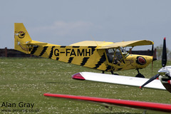 G-FAMH ZENAIR CH.701 STOL PFA 187-13301 PRIVATE -Sywell-20130601-Alan Gray-IMG_9226