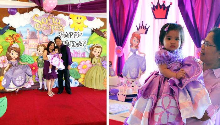 Sofia the First Birthday Party Theme