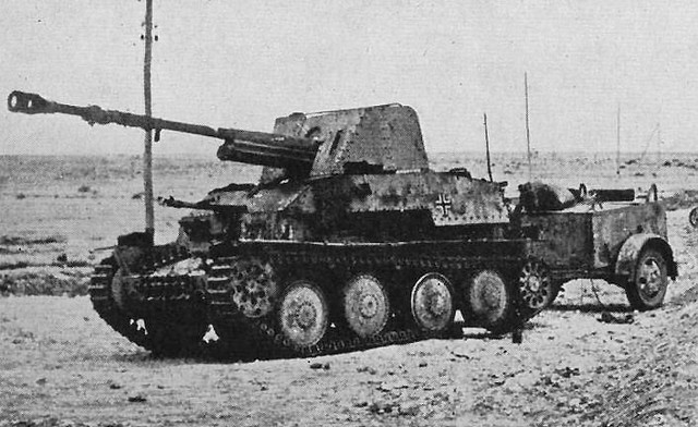 Marder, a sivatagban