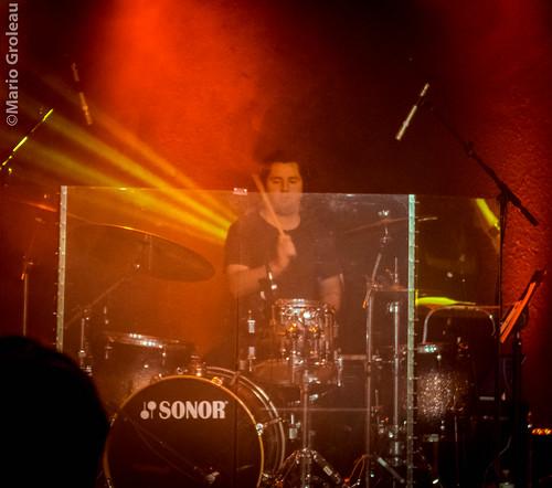Steven Cope au lancement du disque de Karolane Millette