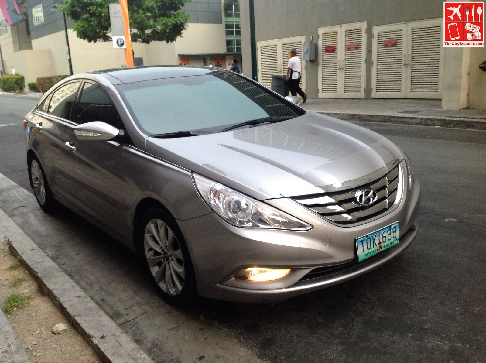 I rode a Hyundai Sonata to the GrabCar Media Launch