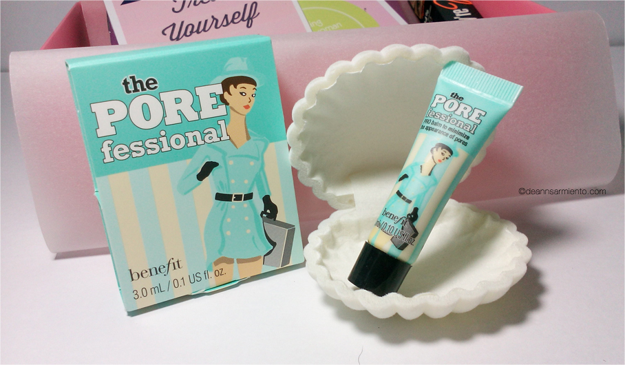 Unboxing June BDJBox 2014 an exclusive benefit cosmetics box the porefessional