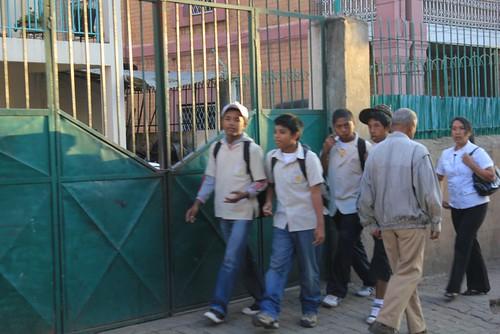 ecoliers à Antananarivo