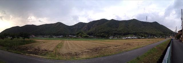 城ヶ峰〜石谷 全景