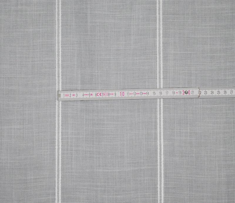 15 5 cm breite scheibengardine wei k seleinenoptik 90 cm hoch ebay. Black Bedroom Furniture Sets. Home Design Ideas