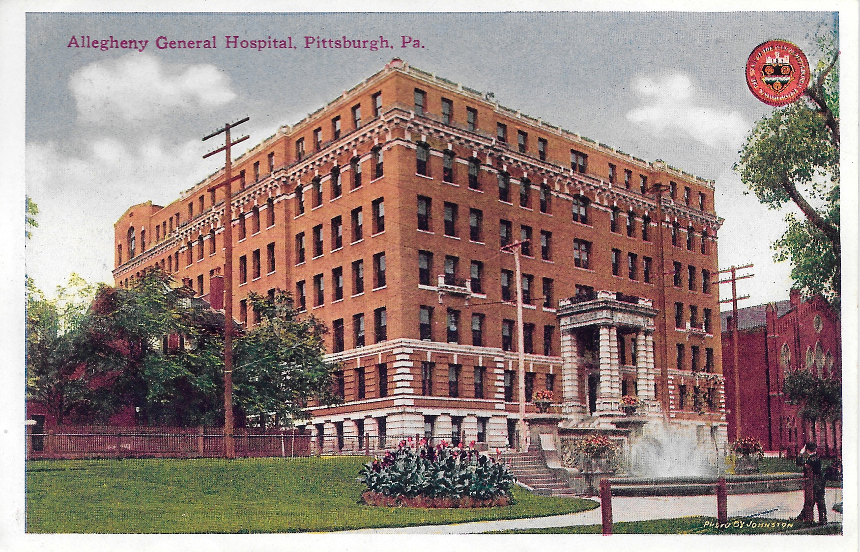 Postcard6-AlleghenyGeneralHospital