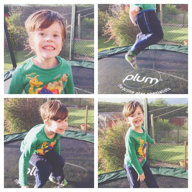 Fun on the #trampoline <3