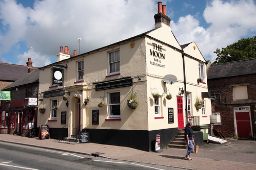The Moon pub Storrington West Sussex UK