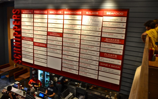 Menu - Schnippers NYC