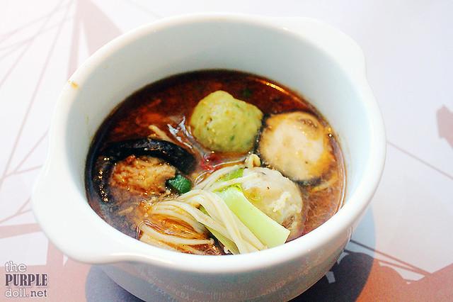 Shabu-shabu serving