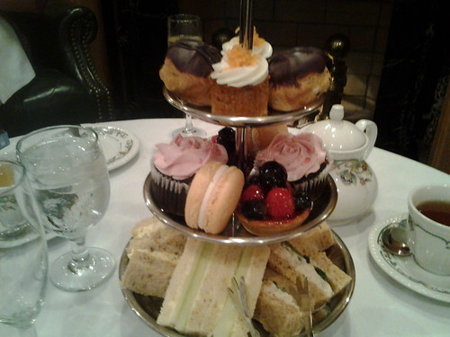 Afternoon Tea at The Chesterfield Palm Beach
