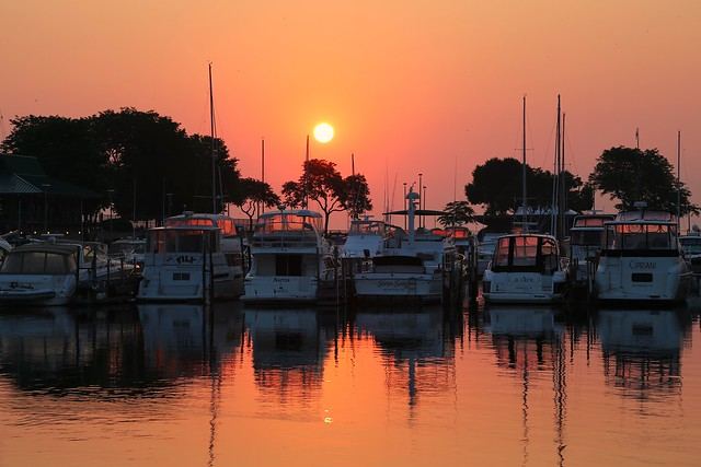 It's Another McKinley Marina Sunrise