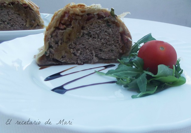 pastel de carne en hojaldre 1
