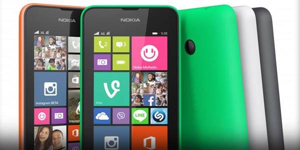 Harga dan Spesifikasi Hp Terbaru Nokia Lumia 530