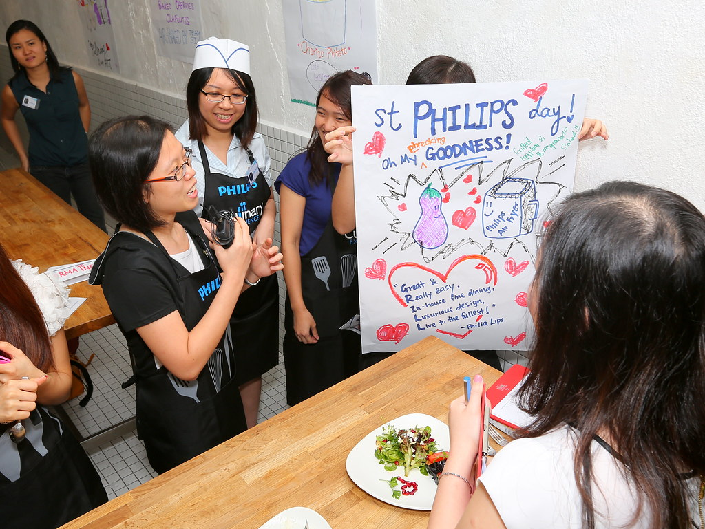 each team came up with a very beautiful signage to explain their dishes