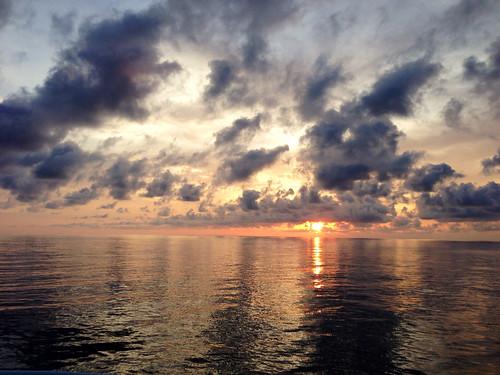 sunset costa sun set costarica pacific rica