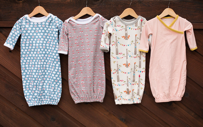 newborn gowns