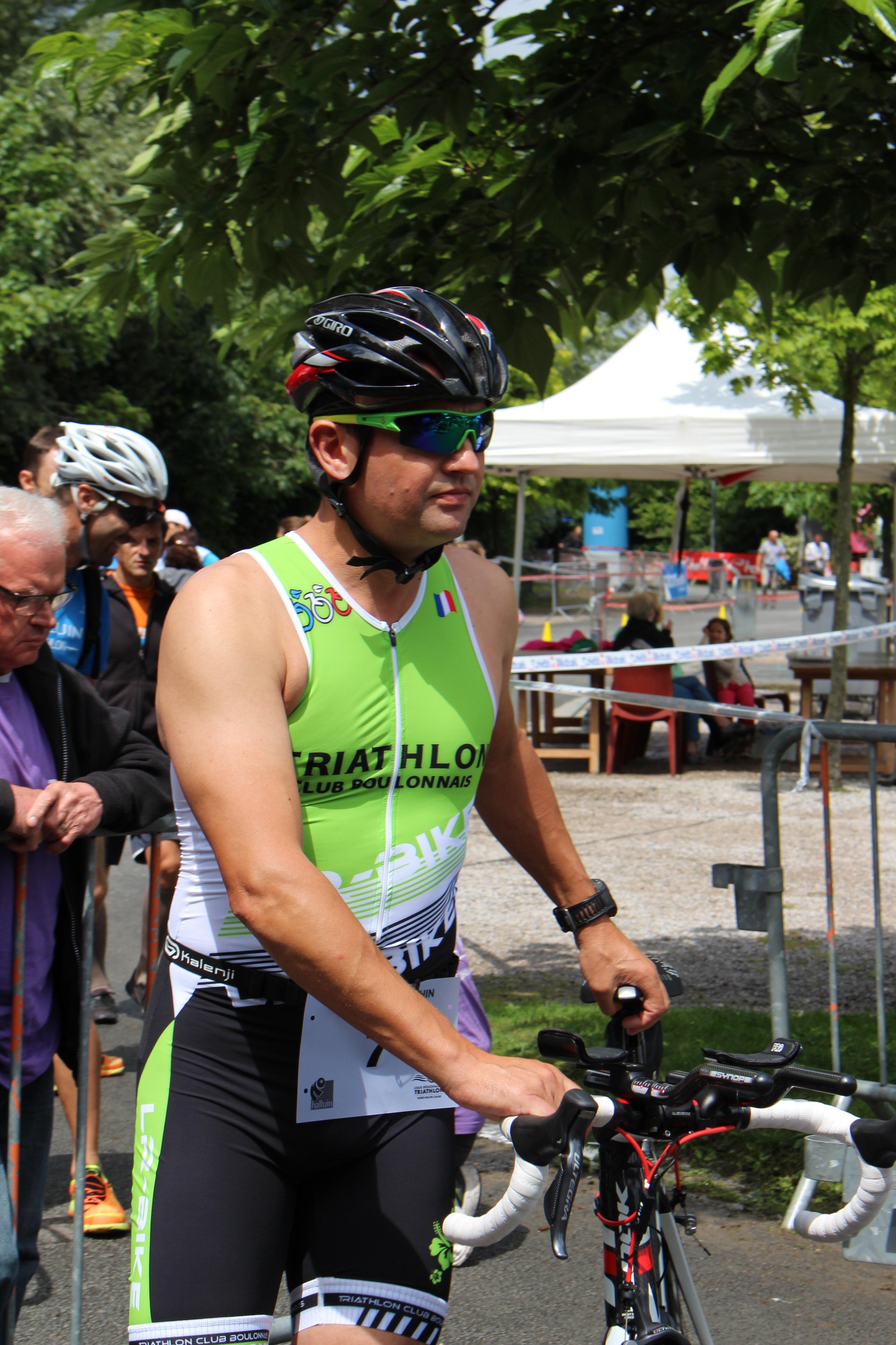 Triathlon Halluin 2014