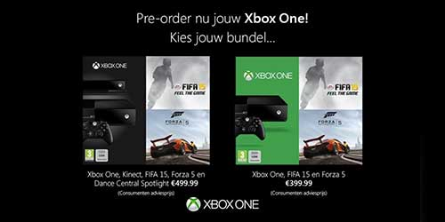 Xbox One FIFA 15 and Forza 5 bundle coming to Europe this september for €399