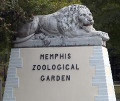 Memphis Zoo 09-03-2009 - Statue 1