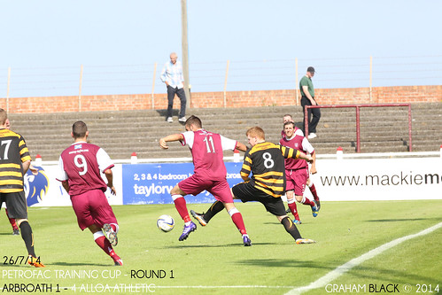 Arbroath 1 - 4 Alloa Athletic -