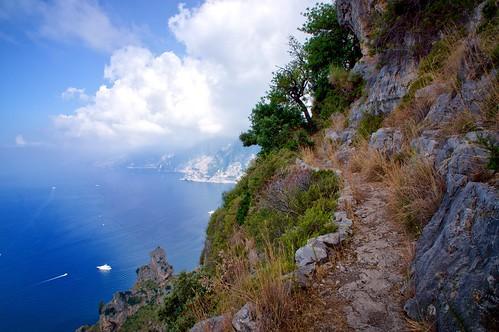 italy coast sunny amalfi