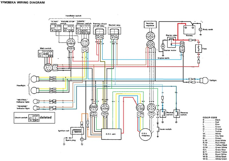 warrior 350 90 no da chispa :( - foros de quadtreros.com yamaha warrior wiring diagram