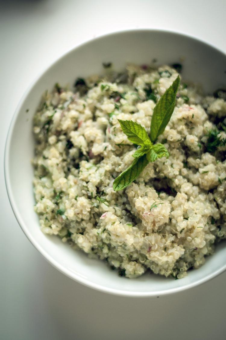 herbed qunioa