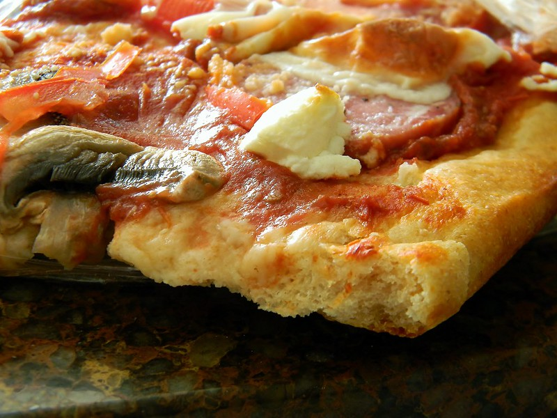 Higher Protein Pizza Dough