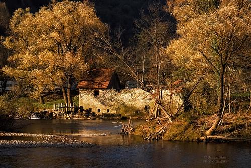 landscape croatia kupa rijeka gorskikotar štefanci