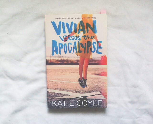 vivian versus the apocalypse katie coyle book lifestyle blog book review uk