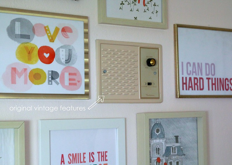how to hang gallery wall via Kristina J blog