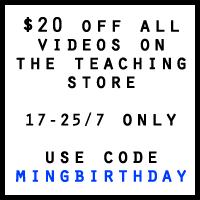 MINGBIRTHDAY video sale