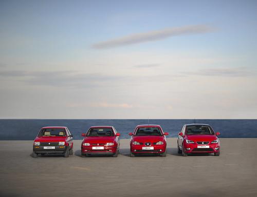 SEAT Ibiza - Generación 1, 2, 3 y 4