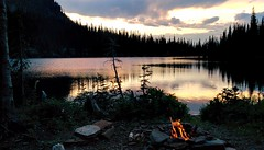 Snowshoe Lake, Cabinet Mountains Wilderness, Montana