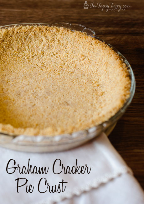 an easy and delicious recipe for the perfect graham cracker crust