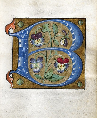 009-Leaf from Alphabet Book- The Art Walters Museum