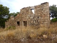2ème maison de Ghjuncaghjola : la façade arrière