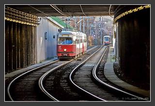 Tram Wien 26. Dec 2009