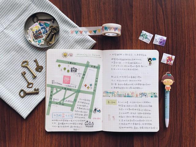201405-台南之旅手帳003