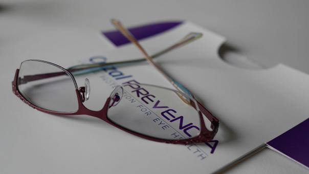 Crizal Prevencia + Transitions lenses