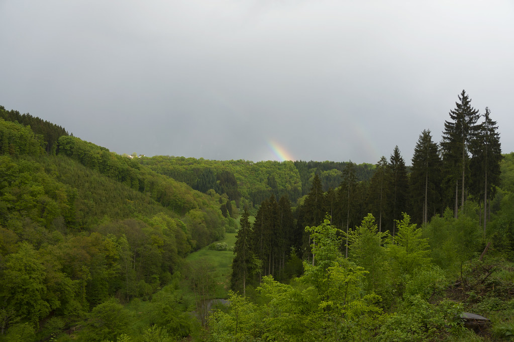 Rainbow over Munshausen