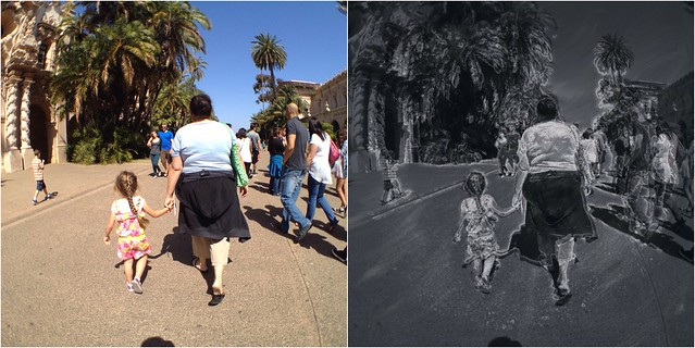 Street Walk Before and After