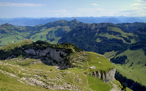 mountains alps nature landscape switzerland scenery hiking appenzell iphone alpstein massif ebenalp hoherkasten schäfler peterch51