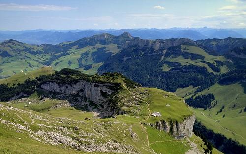 mountains alps nature landscape switzerland scenery hiking appenzell iphone alpstein massif ebenalp hoherkasten schäfler peterch51