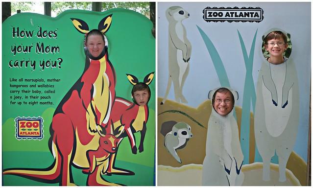 Zoo heads!